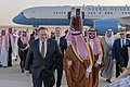 Secretary Pompeo is Greeted by Saudi Foreign Minister Adel al-Jubeir Upon Arrival (41717772672).jpg