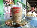 Segelas of kopi susu di Malino.JPG