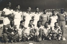 4ad4f2afc Brazilian national team at the 1950 World Cup. National Archives of Brazil.