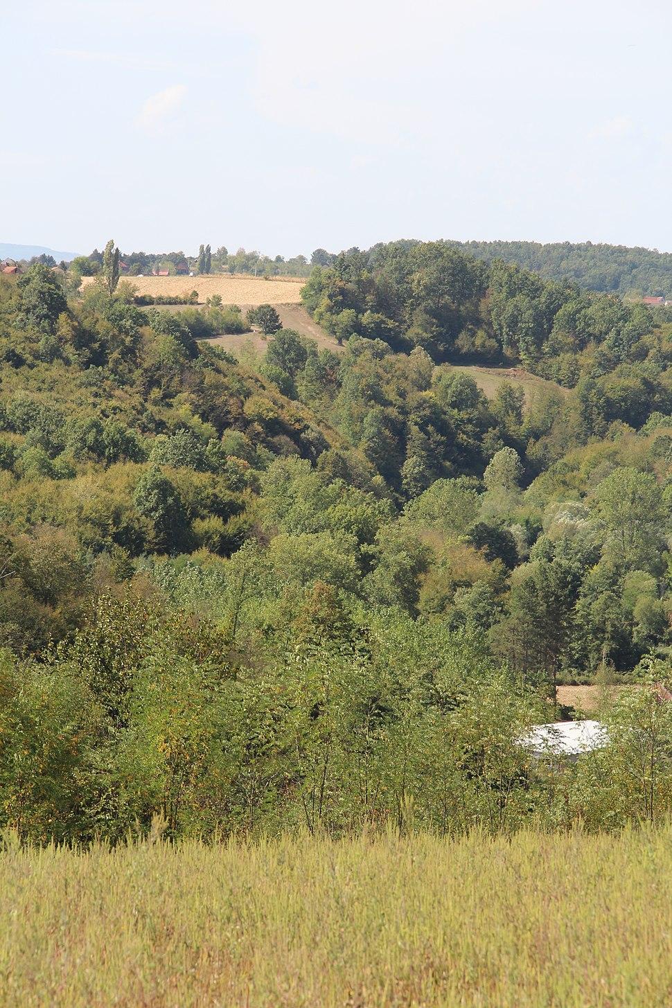 Selo Blizonje - opština Valjevo - zapadna Srbija - Panorama 5