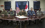 Senior leaders sign Drug and Drunk Driving Prevention Proclamation 141204-M-PU373-537.jpg