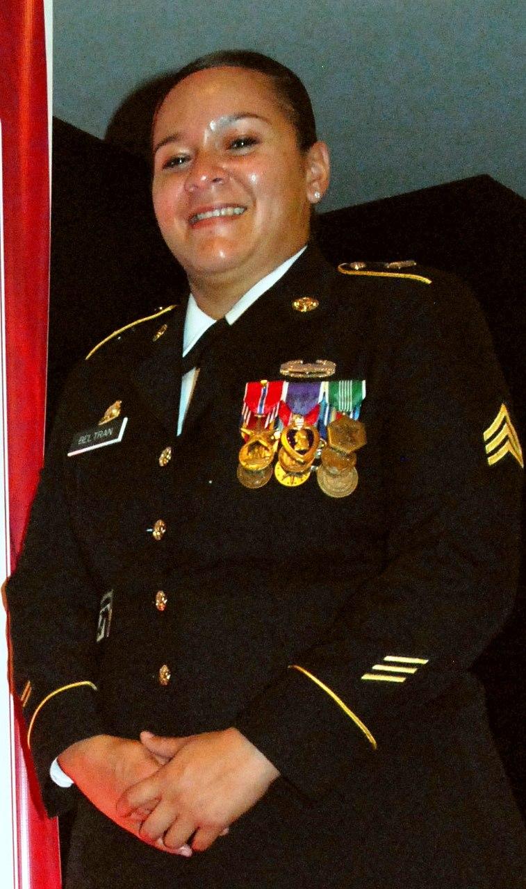 Sergeant Monica Beltran of the Virginia ARNG in 2012