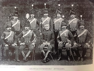 Royal Gloucestershire Hussars - Sergeants, Royal Gloucestershire Hussars, 1896