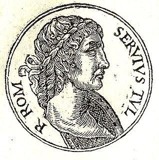 legendary king of Rome