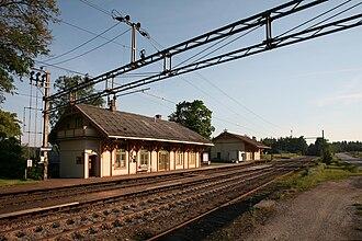 Nes, Akershus - Seterstøa station in Nes was built in 1862
