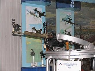 ShKAS machine gun - ShKAS in a ring mount