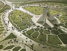 Marvelous Azadi Square In 1971.