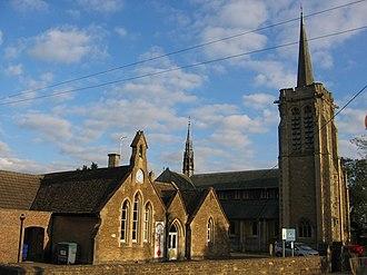 Shaw, Wiltshire - Image: Shaw church