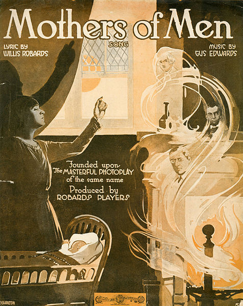File:Sheet music cover - MOTHERS OF MEN - SONG (1917).jpg