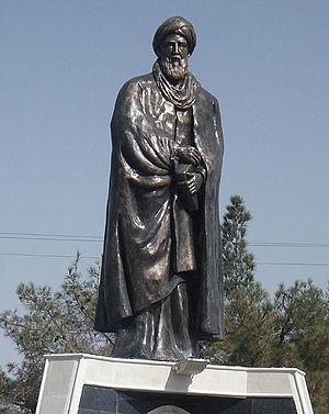 Sheikh Ahmad-e Jami - Sheik Ahmad Jami statue in Torbat-e Jam