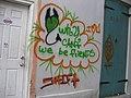 Shift Graffiti on Historic French Quarter Building New Orleans.jpg