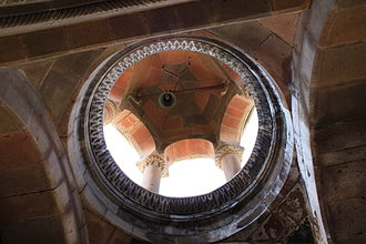 Shoghakat Church - Image: Shoghakat Belltower interior