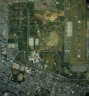 Tachikawa Airfield - Aerial photograph (1989)