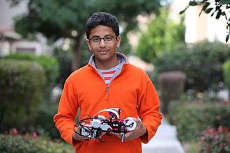 Braigo - Inventor Shubham Banerjee with Braigo v1.0