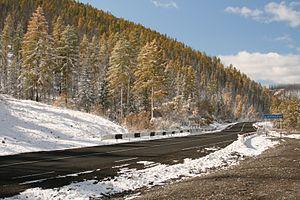 "Russian federal highways - M54 ""Yenisei"""