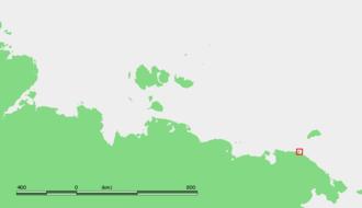 Cape Billings - Location of Cape Billings