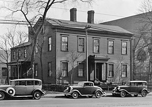 Sibley House (Detroit, Michigan) - Sibley House in 1934