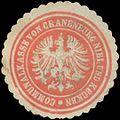 Siegelmarke Communalkasse von Kranenburg Niel und Kecken W0383464.jpg