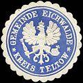 Siegelmarke Gemeinde Eichwalde - Kreis Teltow W0262567.jpg