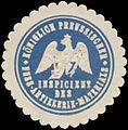 Siegelmarke K.Pr. Inspicient des Fuss-Artillerie-Materials W0379155.jpg