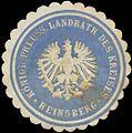 Siegelmarke K.Pr. Landrath des Kreises Heinsberg W0345942.jpg