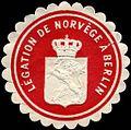 Siegelmarke Legation de Norvege a Berlin W0223739.jpg
