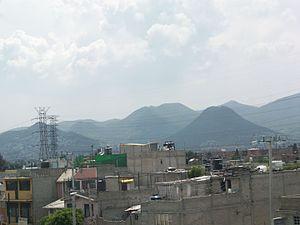 Ecatepec de Morelos - Sierra de Guadalupe in Ecatepec de Morelos.