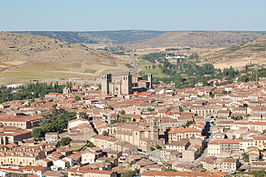 Vista general de Sigüenza