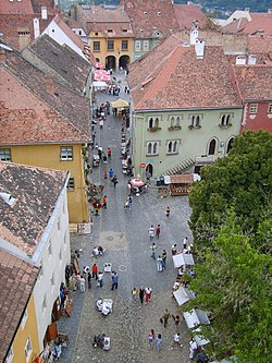 Sighisoara view from the clock tower.jpg