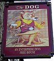 Sign for the Dog - geograph.org.uk - 2173793.jpg