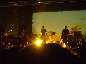Sigur Rós - Sigur Rós performing in Hong Kong, on 7 April 2006.