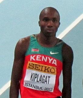 Silas Kiplagat Kenyan middle-distance runner