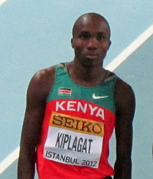 Silas Kiplagat - Kiplagat at the 2012 World Indoor Championships