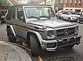Silver Mercedes-Benz G 500 AMG Cabriolet fr London14.jpg