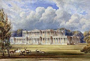 James Thomas Knowles (1806–1884) - Silverton Park, south front