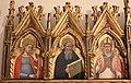 Simone dei crocifissi, polittico dai ss. leonardo e orsola, 1385-90 ca. 02.jpg