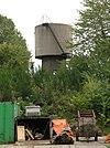 Spoorwegwatertoren en draaischijf