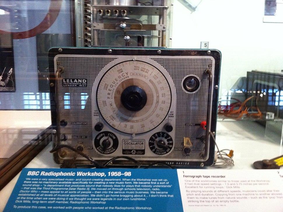 Sine Wave Oscillator - BBC Radiophonic Workshop, 1958-98