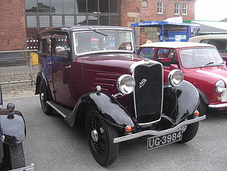 Singer Nine - 1933 Nine four-door saloon