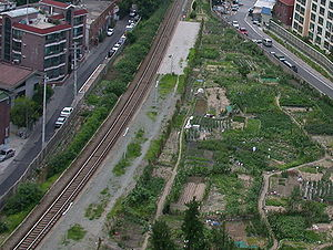 Gyeongchun Line - abandoned platform of Singongdeok station, Gyeongchun line