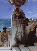 Sir Lawrence Alma-Tadema - A Foregone Conclusion - Google Art Project.jpg