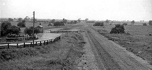 Barnstone railway station - Barnstone railway station in 1963