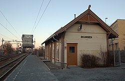 Skansen station and bridge.JPG