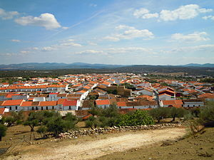Skyline Santa Olalla del Cala Spain 2 Oct 2012.JPG