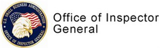 Office of Inspector General (United States) - Image: Small Business Administration (SBA OIG) seal (USA)