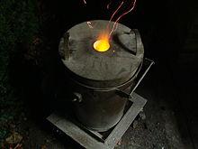 Fundici n metalurgia wikipedia la enciclopedia libre - Hierro y aluminio ...
