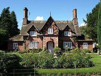 Lewis Nockalls Cottingham - Bailiff's Cottage, Snelston