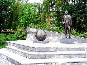 Tomáš Baťa - Baťa statue in Otrokovice, Czech Republic