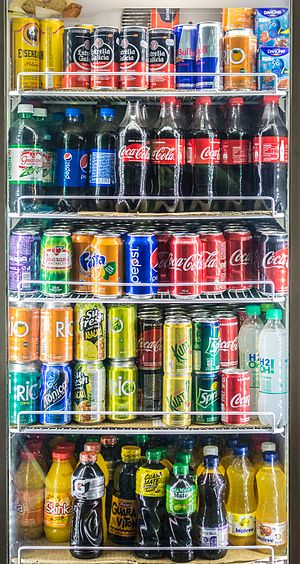 Fast-moving consumer goods - Soft drinks are FMCGs