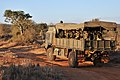 Soldiers on a Troop Carrying Vehicle in Kenya MOD 45155313.jpg